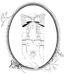 masked lady 9 by moeranii