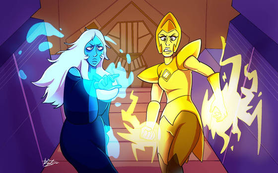 angry diamonds