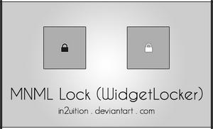 MNML Lock (WidgetLocker) by In2uition