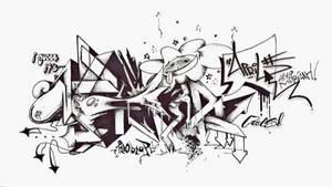 'APRIL' sketch