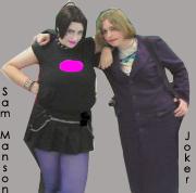 Sam Manson and Joker by IMarriedMyFandoms