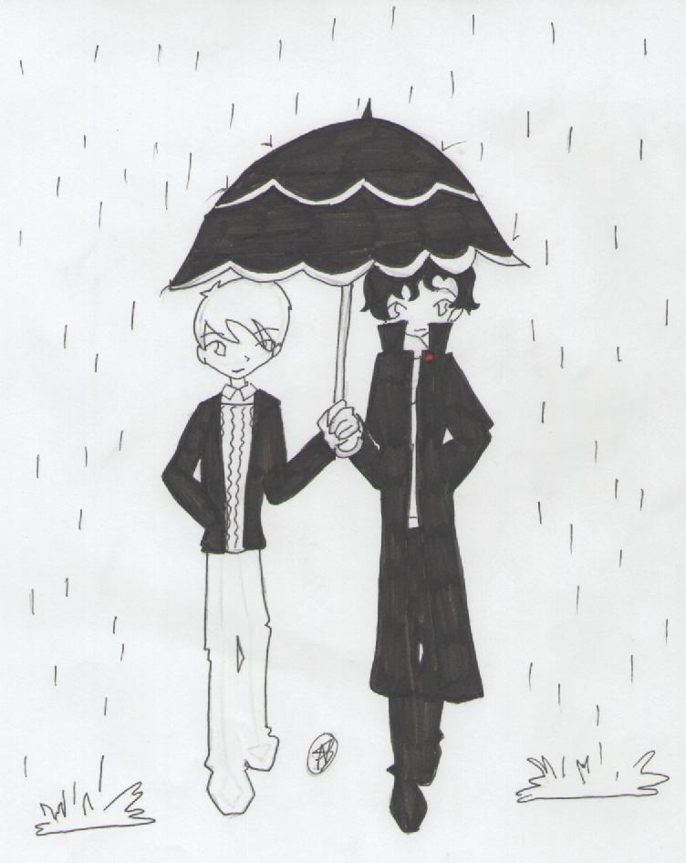 Rain by IMarriedMyFandoms