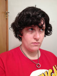 Sherlock Wig Test1 by IMarriedMyFandoms