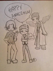 Happy Anniversary Melody by IMarriedMyFandoms