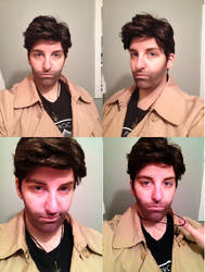 Castiel Cosplay - Makeup trial by IMarriedMyFandoms