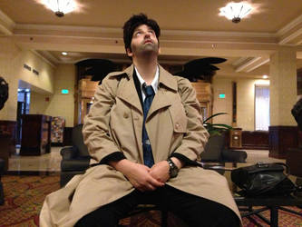 Castiel - Where are you God? by IMarriedMyFandoms