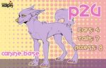 P2U Canine Base 6