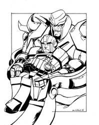 Megatron Ironhide commission