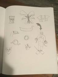 Random sketches #2