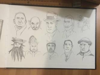 Portrait Sketches #1