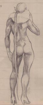 I like this pencil drawing thi