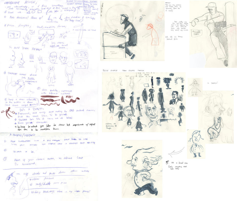 Character Design Notes Spot : Taw talk character design notes by tigr ss on deviantart