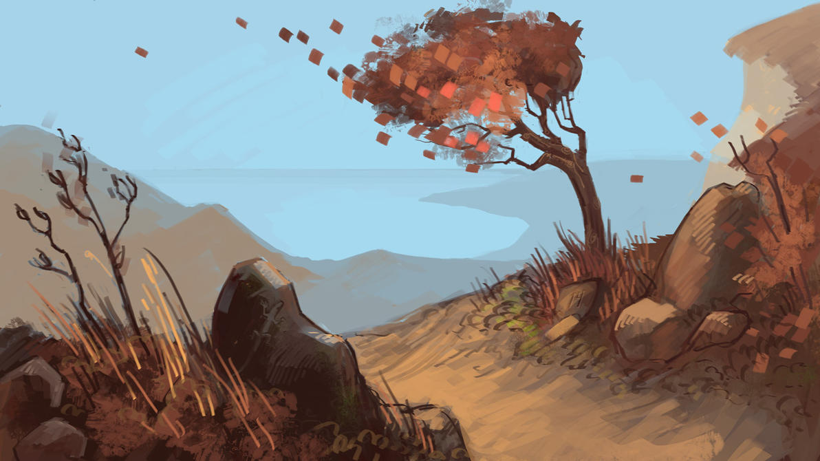 Exterior background windy place by tigr3ss on deviantart for Exterior background