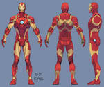iron man armor model 37 / bleeding edge armor
