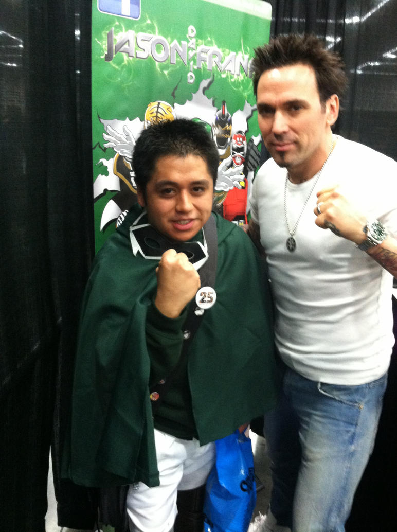 Me and Jason David Frank by JGraphic1
