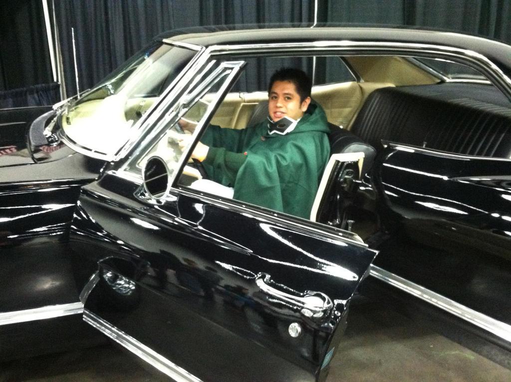 Me driving Supernatural Impala 2 by JGraphic1