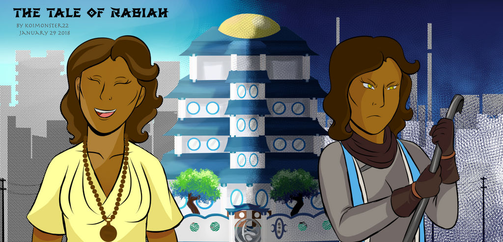 Republic City Life- Rabiah Agent of Wolves