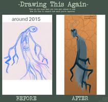 Draw this again-strange spirit by TheTale-Of-Rabiah