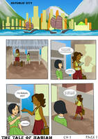 The Tale of Rabiah book 1 chapter 1 page 1 by TheTale-Of-Rabiah