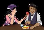 Hau and Asaad Fleshport Couple Cosplay by Koimonsters-khaos