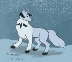 Wolf Spirit-Black Pearl Design Change Sketch