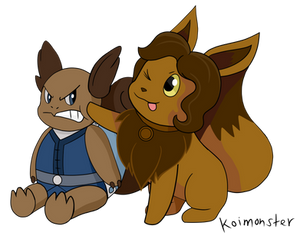 The Legend of korra and pokemon crossover