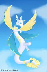 Fakemon Angel Dragon