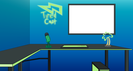 Tired Cast Background commission
