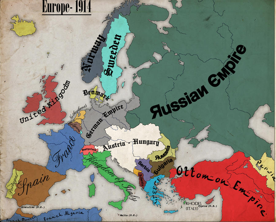 You Are Sent Back To Win WW1 For The Central Powers