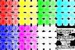 Neon Arrow Sign Characterset v2 (RM VX/Ace)