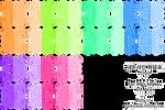 Neon Arrow Sign (Diag. and Alt color, RM VX/Ace)