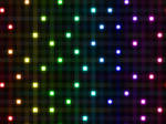 Random Rainbow Light Lattice