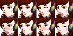 D.va from Overwatch Faceset (RM VX/Ace)