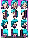 Jinx from LOL Characterchip (RM VX/Ace)