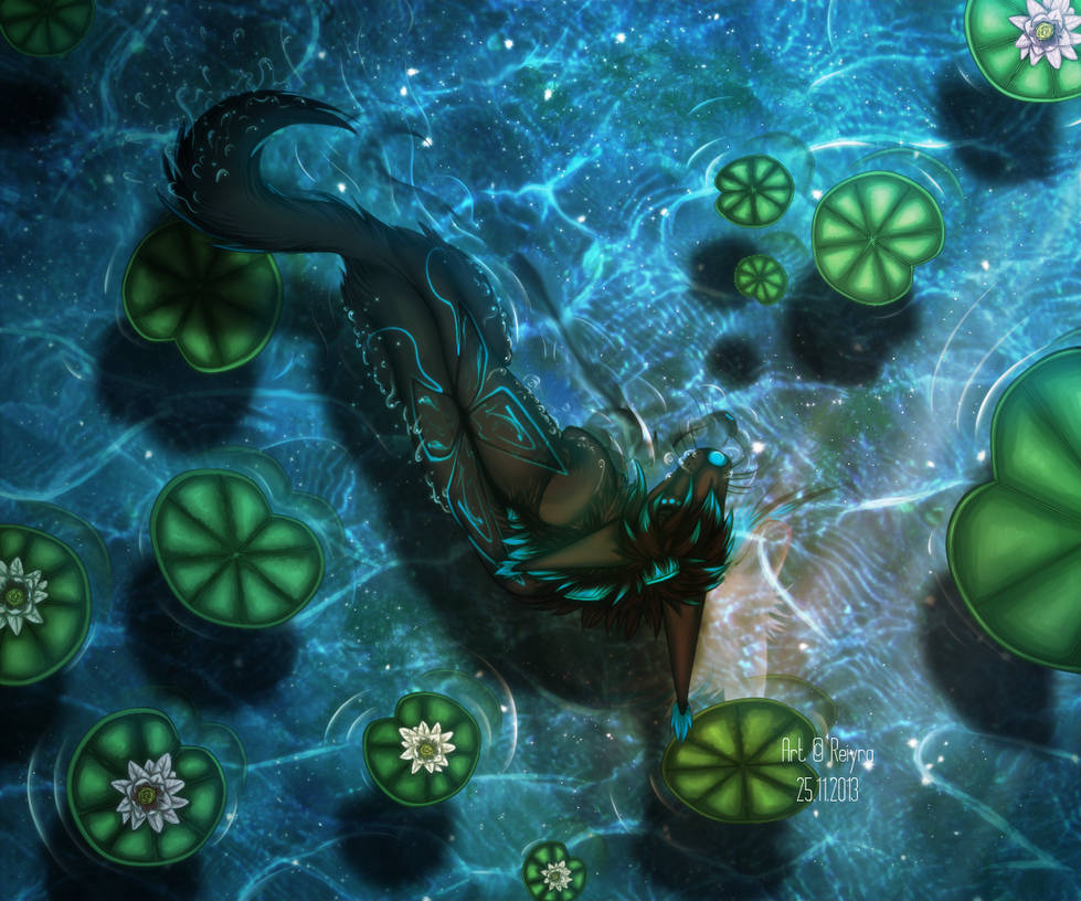 Psyche in water by Caracalkiller