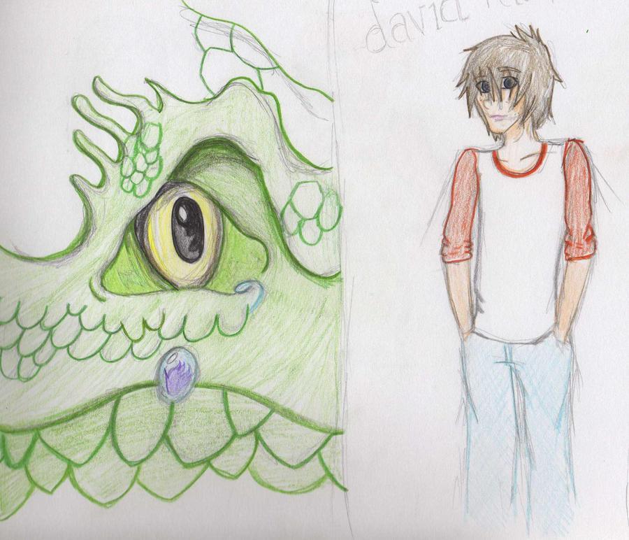 Pennykettle clay dragon