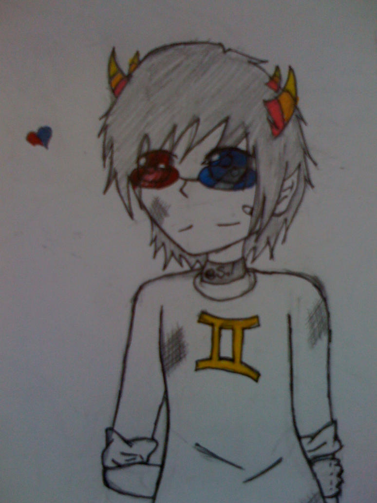 Sollux zoom in by DililahsSisMariah
