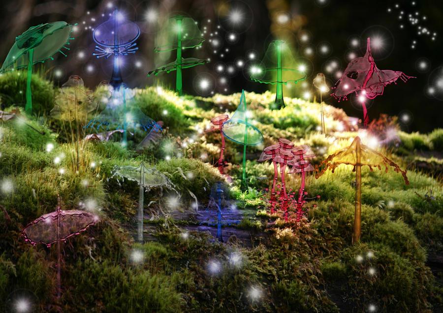 my crystal garden by slug22 - Crystal Garden