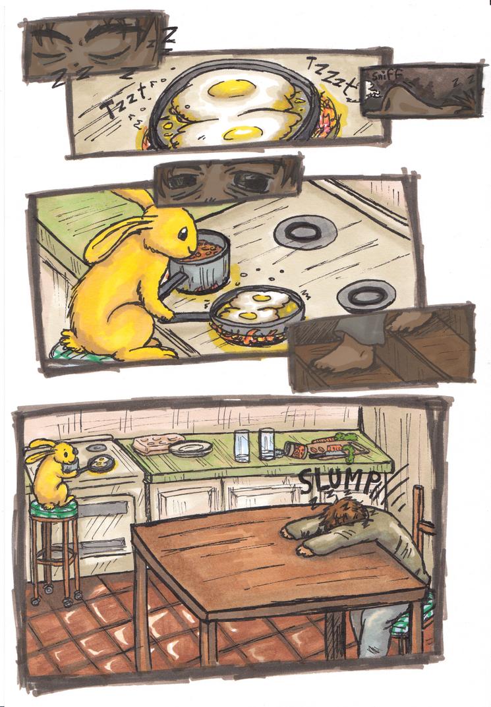 Bee - mini comic by pan77155