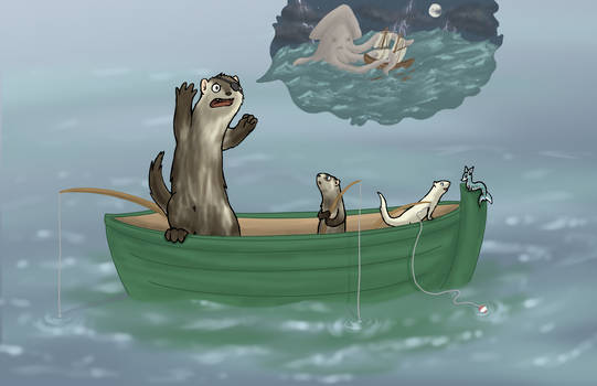 Faintly Painterly - Fishing trip