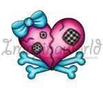 Heart -n- Crossbones Tattoo