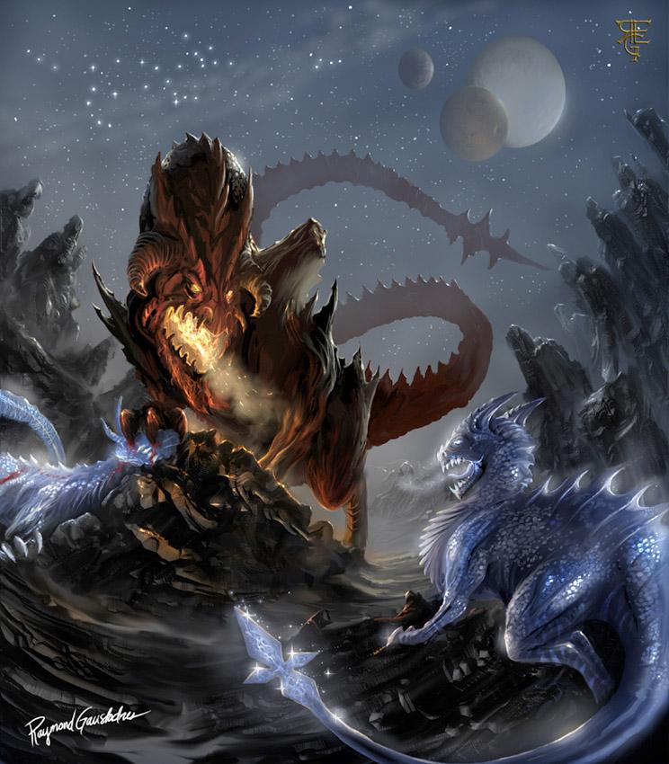 70+ Fierce Dragon Designs From DeviantART