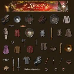 Xhodon - ingame items by Shockbolt