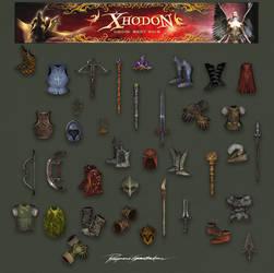 Xhodon - ingame items 02 by Shockbolt