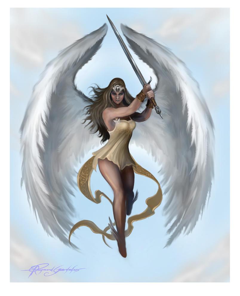Guardian Angel - Tattoo art by Shockbolt