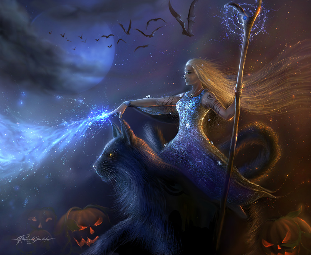 The White Witch - halloween