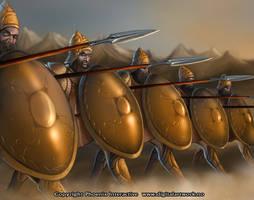 Phalanx - Warlord CCG by Shockbolt