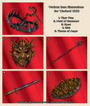 Items 01 - Warlord  CCG