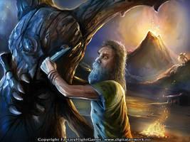 Island Hermit- Call of Cthulhu by Shockbolt