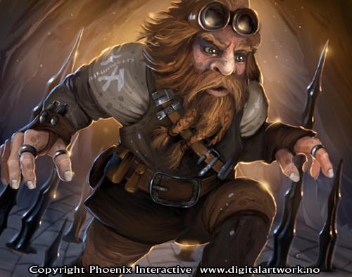 Barb - Warlord CCG by Shockbolt